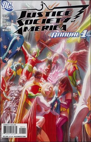Justice Society of America Annual 1-A