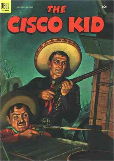 Cisco Kid (1951) 17-A by Dell