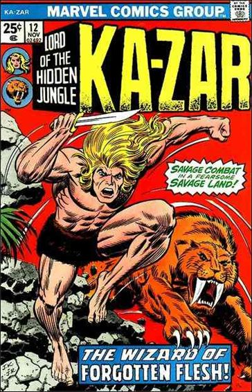 Ka-Zar (1974) 12-A by Marvel