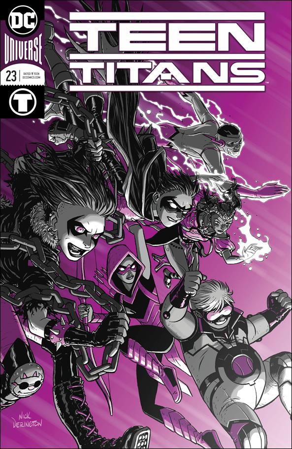 Teen Titans (2016) 23-A by DC