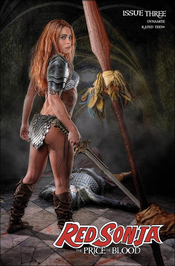Red Sonja: Price of Blood 3-E by Dynamite Entertainment