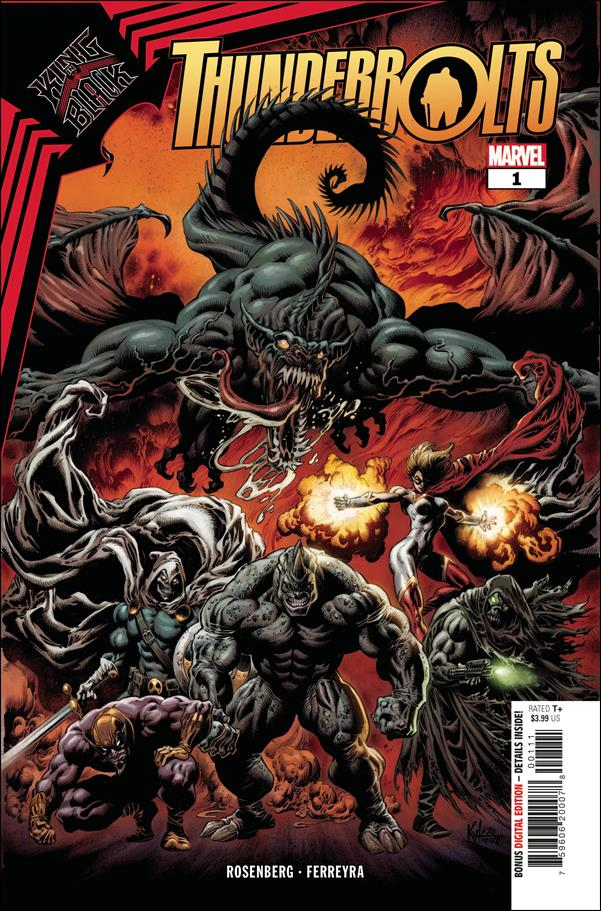 King in Black: Thunderbolts 1-A by Marvel