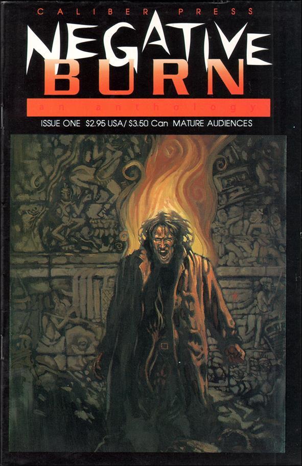 Negative Burn (1993) 1-A by Caliber