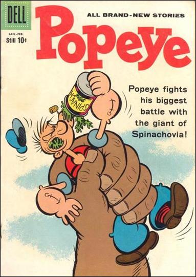 Popeye (1948) 51-A by Dell