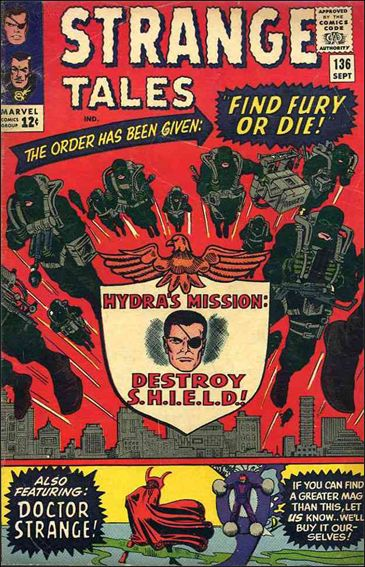 Strange Tales (1951) 136-A by Marvel