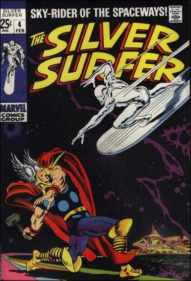 Silver Surfer (1968) 4-A by Marvel
