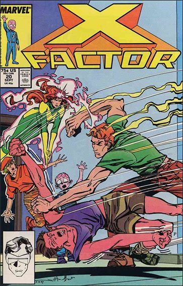 X-Factor (1986) 20-A by Marvel