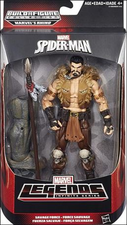 Marvel Legends Infinite: Spider-Man (Rhino Series)  Savage Force (Kraven the Hunter)