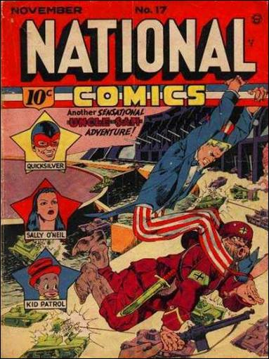 National Comics (1940) 17-A by Quality