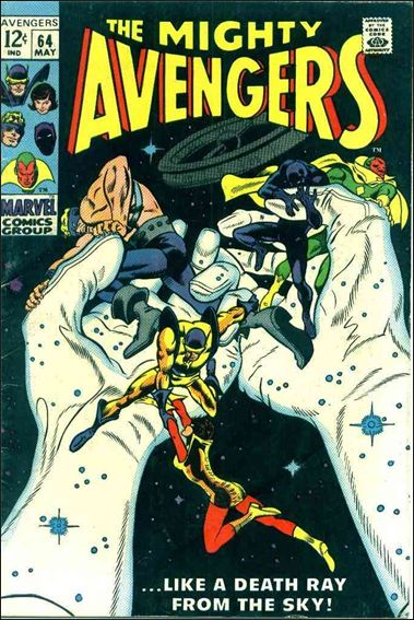 Avengers (1963) 64-A by Marvel