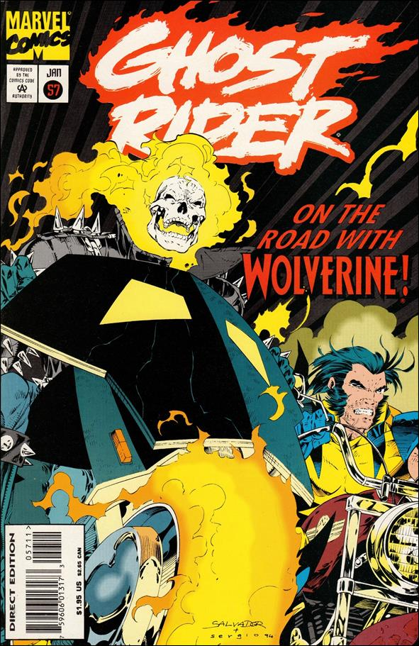 Ghost Rider (1990) 57-A by Marvel