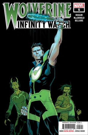 Wolverine: Infinity Watch 5-A