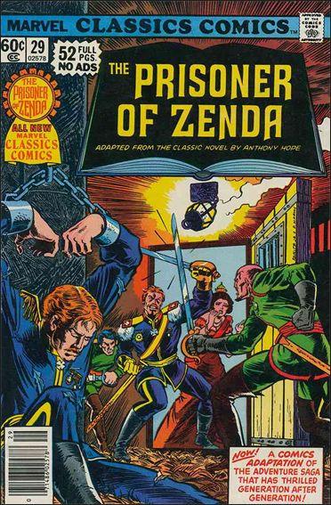 Marvel Classics Comics 29-A by Marvel