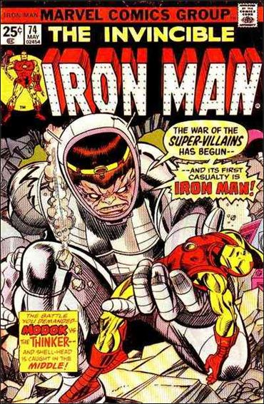 Iron Man (1968) 74-A by Marvel