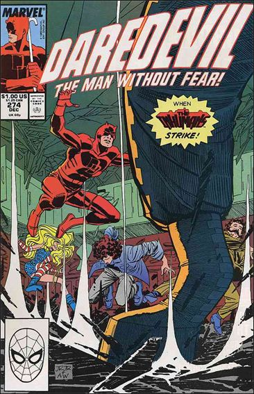 Daredevil (1964) 274-A by Marvel