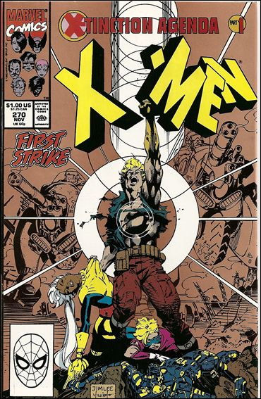 Uncanny X-Men (1981) 270-B by Marvel