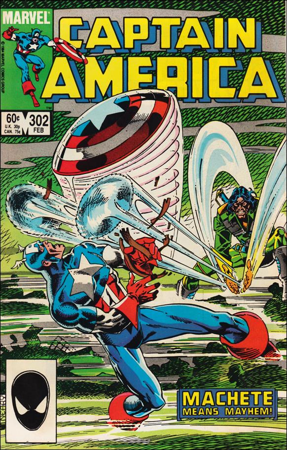 Captain America (1968) 302-A by Marvel