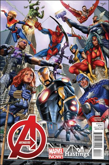 Avengers (2013) 1-J by Marvel