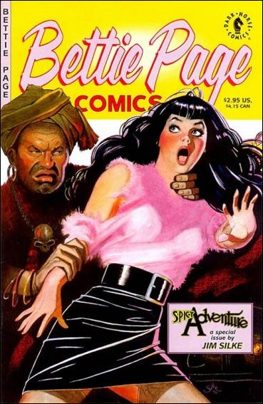 Bettie Page Comics: Spicy Adventure 1-A by Dark Horse