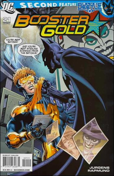 Booster Gold (2007) 21-A by DC