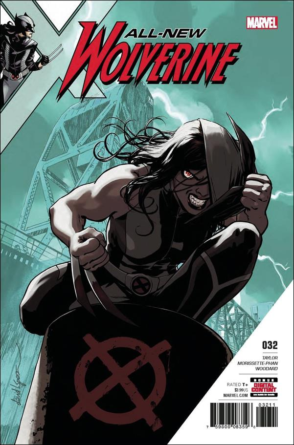 All-New Wolverine  32-A by Marvel