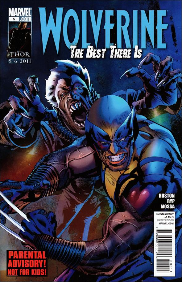 Wolverine: The Best There Is 5-A by Marvel