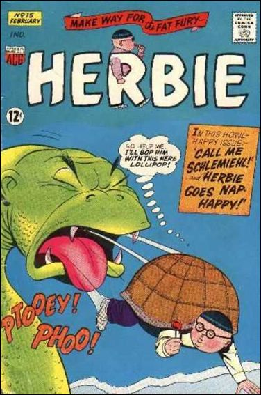 Herbie (1964) 15-A by American Comics Group (ACG)