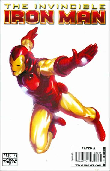 Invincible Iron Man (2008) 20-C by Marvel