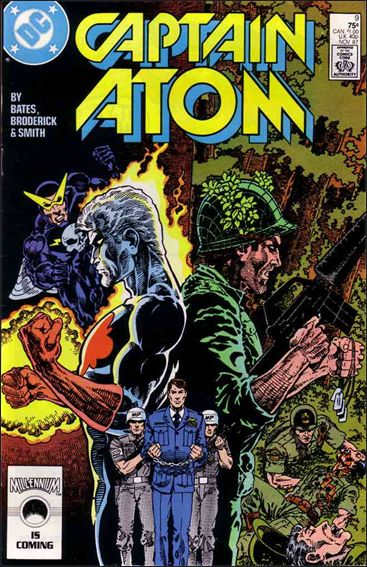 Captain Atom (1987) 9-A by DC