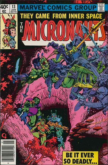 Micronauts (1979) 13-A by Marvel