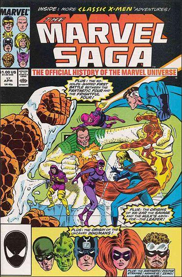 Marvel Saga 17-A by Marvel