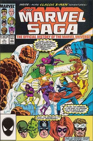 Marvel Saga 17-A