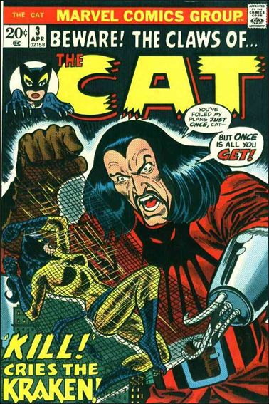 Cat (1972) 3-A by Marvel
