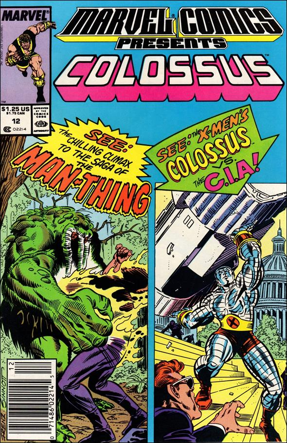 Marvel Comics Presents (1988) 12-A by Marvel
