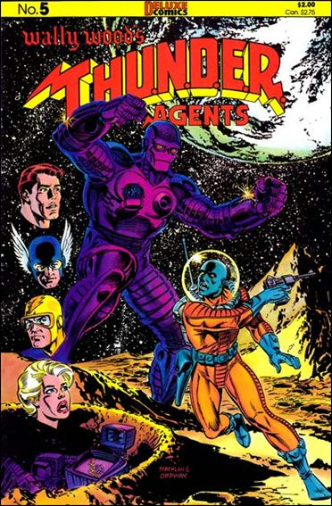 Wally Wood's T.H.U.N.D.E.R. Agents 5-A by Deluxe