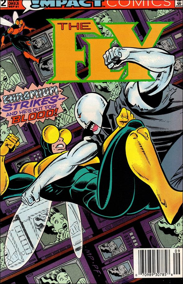 Fly (1991) 2-A by Impact Comics