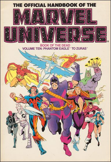 Official Handbook of the Marvel Universe 10-B by Marvel