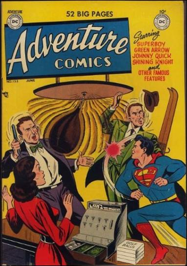Adventure Comics (1938) 153-A by DC