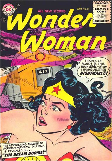 Wonder Woman (1942) 81-A by DC