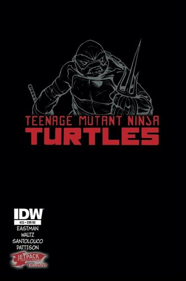 Teenage Mutant Ninja Turtles (2011) 23-E by IDW