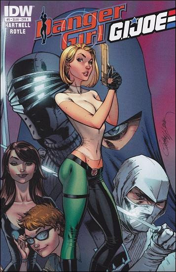 Danger Girl/G.I. Joe 5-A by IDW