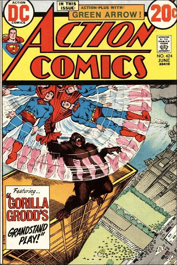 Action Comics (1938) 424-A by DC
