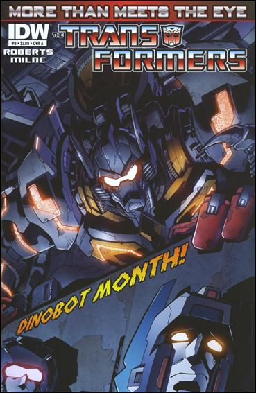 Transformers: More Than Meets the Eye (2012) 8-A by IDW