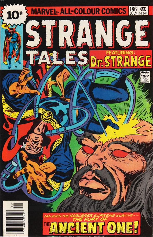 Strange Tales (1951) 186-B by Marvel