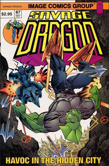 Savage Dragon (1993) 87-A by Image