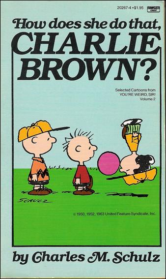 How Does She Do That, Charlie Brown? 1-A by Fawcett