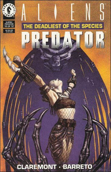 Aliens/Predator: The Deadliest of the Species 10-A by Dark Horse