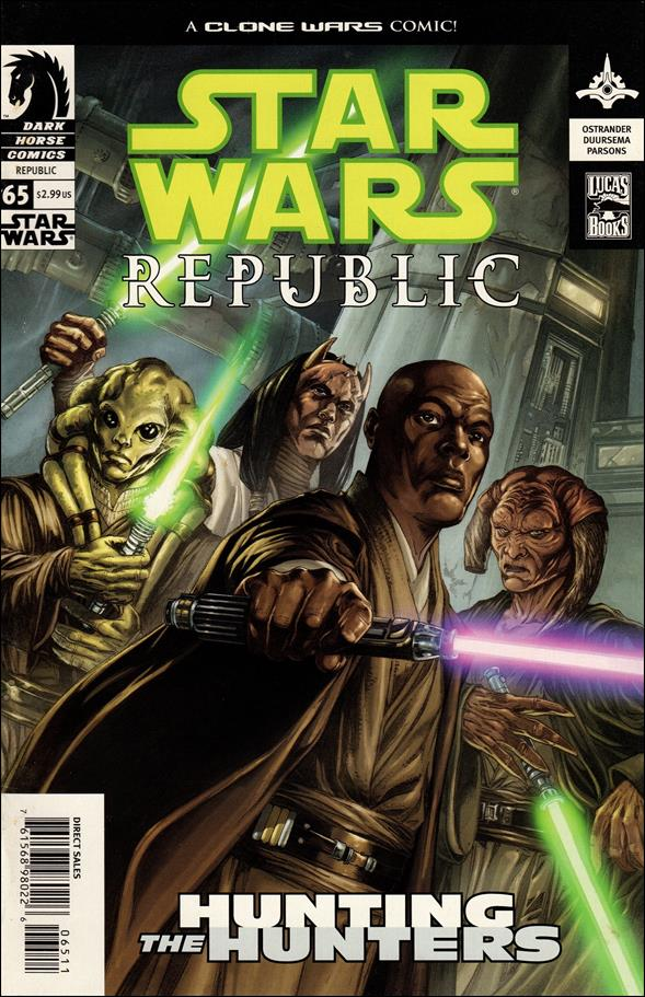 Star Wars/Star Wars Republic 65-A by Dark Horse