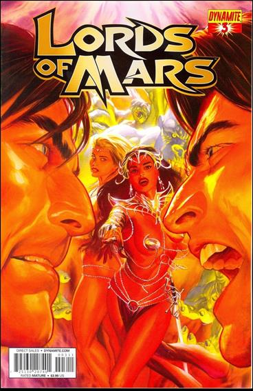 Lords of Mars 3-A by Dynamite Entertainment