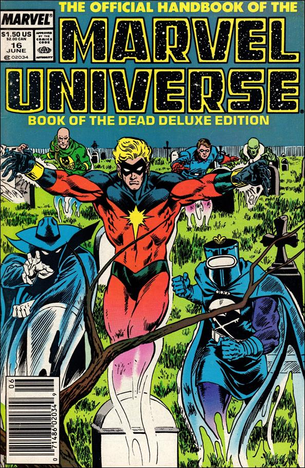 Official Handbook of the Marvel Universe (1985) 16-A by Marvel